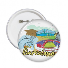 Barcelona Illustration Badge