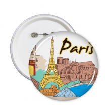 Paris Illustration Badge