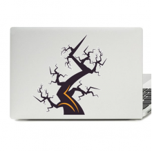 Halloween Tree Laptop Skin Sticker