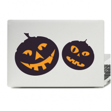 Halloween Pumpkins Laptop Skin Sticker