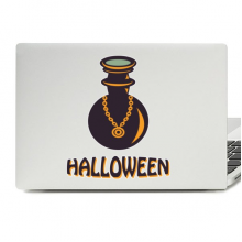 Halloween Witch's danger Bottle Laptop Skin Sticker