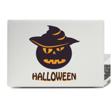 Halloween Mr. Pumpkin Laptop Skin Sticker