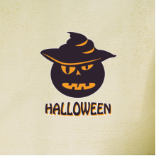 Halloween Mr. Pumpkin Wall Sticker