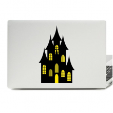 Halloween Castle Laptop Skin Sticker