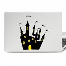 Halloween Fantastic Castle Laptop Skin Sticker
