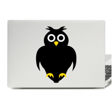 Halloween Owl Laptop Skin Sticker