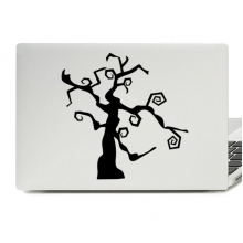 Halloween Dead Tree Laptop Skin Sticker