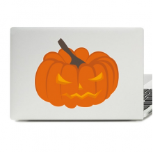 Halloween Angry Pumpkin Laptop Skin Sticker