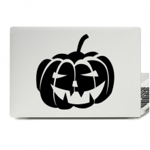 Halloween Black Pumpkin Laptop Skin Sticker