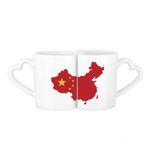 China Flag Map Lovers' Mug