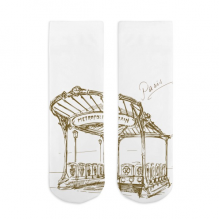 Metropolitain Sketch Cotton Socks