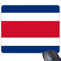 Costa Rica National Flag North America Country Symbol Mark Pattern Rectangle Non-Slip Rubber Mousepad Game Mouse Pad