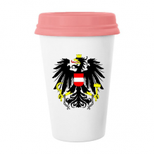 Austria National Emblem Country Symbol Mark Pattern Classic Mug White Pottery Ceramic Cup Milk Coffee Cup 350 ml