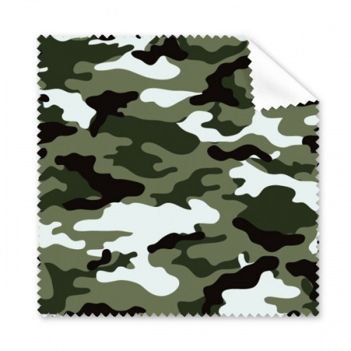 Camouflage Line Art Grain Illustration Pattern Glasses Cloth Cleaning Cloth Phone Screen Cleaner 5pcs