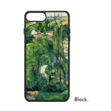 Green Paul Cezanne Famous Oil Schools of impressionism Panintings Oils iPhone 7/7 Plus Cases iPhonecase  iPhone Cover