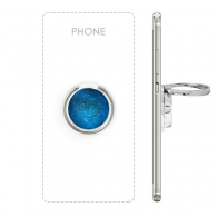 Starry Sky Night Cancer Zodiac Constellation Sign Metal Rotation Ring Stand Holder Bracket for Smartphones Cell Phone Support Accessories