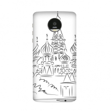 Cathedral Arch Black Line Illustration Sketch Motorola Moto Z / Z Force / Z2 Force Droid Magnetic Mods Phonecase Style Mod