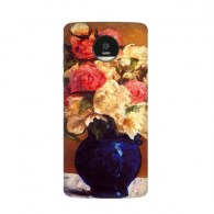 Peony Paul Gauguin Famous Oil Schools of impressionism Panintings Oils Motorola Moto Z / Z Force / Z2 Force Droid Magnetic Mods Phonecase Style Mod