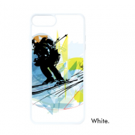 Winter Sport Athletes Synchronized Skiing Sports Watercolor Sketch Illustration iPhone 7/7 Plus Cases iPhonecase  iPhone Cover Phone Case