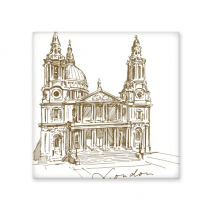 St.Paul'sCathedral Britain England London Iandmark Pattern Ceramic Bisque Tiles for Decorating Bathroom Decor Kitchen Ceramic Tiles Wall Tiles