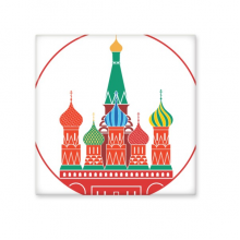 Cathedral Illustration Pattern Cathedral Buiding Moscow Church Ceramic Bisque Tiles for Decorating Bathroom Decor Kitchen Ceramic Tiles Wall Tiles