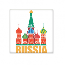 Russia Cathedral Pattern Illustration Moscow Church Ceramic Bisque Tiles for Decorating Bathroom Decor Kitchen Ceramic Tiles Wall Tiles