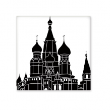 Russia Victory Square Saint Petersburg Outline Pattern Ceramic Bisque Tiles for Decorating Bathroom Decor Kitchen Ceramic Tiles Wall Tiles