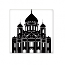 Moscow Cathedral Of Christ The Savior Outline Pattern Ceramic Bisque Tiles for Decorating Bathroom Decor Kitchen Ceramic Tiles Wall Tiles