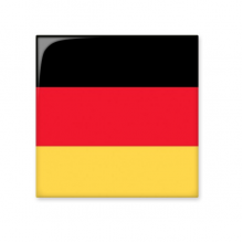 Germany National Flag Europe Country Symbol Mark Pattern Ceramic Bisque Tiles for Decorating Bathroom Decor Kitchen Ceramic Tiles Wall Tiles