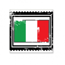 Italy National Flag Europe Country Symbol Mark  Illustration Pattern Ceramic Bisque Tiles for Decorating Bathroom Decor Kitchen Ceramic Tiles Wall Tiles