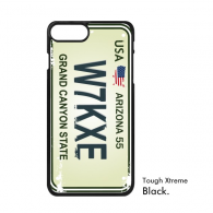 USA American Car Licence Plate Number Arizona Grand Canyon State Creative Illustration Pattern iPhone 7/7 Plus Cases iPhonecase  iPhone Cover Phone Case