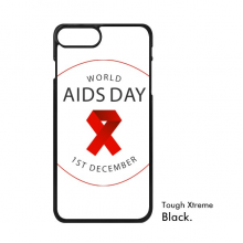 1st December Red Ribbon World AIDS Day HIV Awareness Solidarity Symbol iPhone 7/7 Plus Cases iPhonecase  iPhone Cover Phone Case