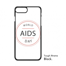 1st December World AIDS Day HIV Awareness Solidarity Symbol iPhone 7/7 Plus Cases iPhonecase  iPhone Cover Phone Case