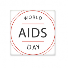 1st December World AIDS Day HIV Awareness Solidarity Symbol Ceramic Bisque Tiles for Decorating Bathroom Decor Kitchen Ceramic Tiles Wall Tiles