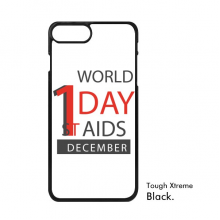 1st December World AIDS Day Solidarity HIV Awareness Symbol iPhone 7/7 Plus Cases iPhonecase  iPhone Cover Phone Case