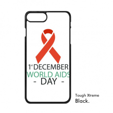 1st December World AIDS Day HIV Solidarity Awareness Symbol iPhone 7/7 Plus Cases iPhonecase  iPhone Cover Phone Case