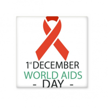 1st December World AIDS Day HIV Solidarity Awareness Symbol Ceramic Bisque Tiles for Decorating Bathroom Decor Kitchen Ceramic Tiles Wall Tiles
