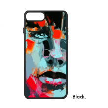 Abstract Character Figure Boy Oil Painting Illustration Pattern iPhone 7/7 Plus Cases iPhonecase  iPhone Cover Phone Case