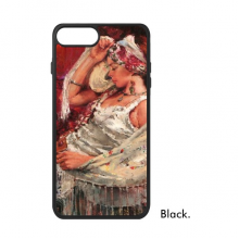 Bohemian Style Sleeping Position Beauty Picture Oil Painting iPhone 7/7 Plus Cases iPhonecase  iPhone Cover Phone Case