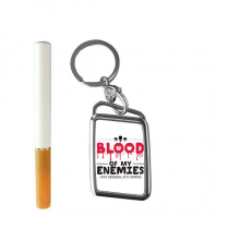 Zombie Biochemical Horror Bloody Kidding Theme English Gift Cigarette Lighter USB Electric Arc Metal Flameless Rechargeable Windproof Lighter Elegant Gift Box