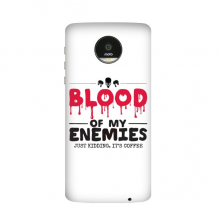 Zombie Biochemical Horror Bloody Kidding Theme English Gift Motorola Moto Z / Z Force / Z2 Force Droid Magnetic Mods Phonecase Style Mod Gift