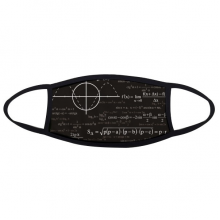Curve Graphs Mathematical Science Formula Calculations Face Anti-dust Head Anti Cold Heade Gift