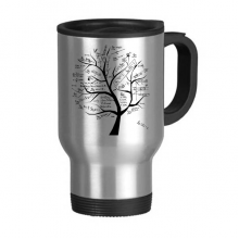 Tree-Shaped Seeking Limits Mathematical Formulas Science Calculus Painted Stick Figure Stainless Steel Travel Mug Travel Mugs Gifts With Handles 13oz