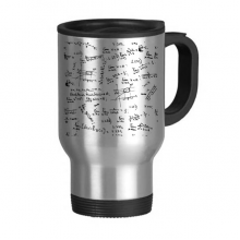 Green Seeking Limits Mathematical Formulas Science Calculus Painted Stick Figure Stainless Steel Travel Mug Travel Mugs Gifts With Handles 13oz