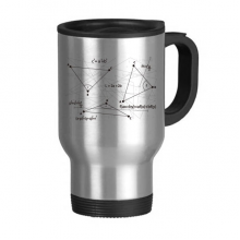 Grey Angle Mathematical Science Formula Calculus Stainless Steel Travel Mug Travel Mugs Gifts With Handles 13oz