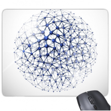 Abstract Atomic Structure Physical Three-dimensional Illustration Rectangle Non-Slip Rubber Mousepad Game Mouse Pad Gift