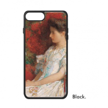 Girl In The Red Chair Realism Oil Schools Of Impression Painting For iPhone 7/7 Plus Cases Phonecase Apple Cover Case Gift