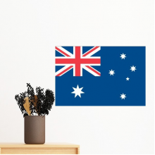Australia National Flag Oceania Country Symbol Mark Pattern Removable Wall Sticker Art Decals Mural DIY Wallpaper for Room Decal
