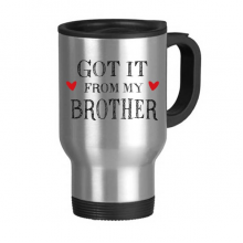 For My Family Got It From My Fraternal Present Stainless Steel Travel Mug Travel Mugs Gifts With Handles 13oz