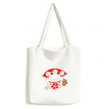 Cherry Blossoms Fat Lucky Fortune Cat Fan Japan Culture Environmentally Tote Canvas Bag Shopping Handbag Craft Washable